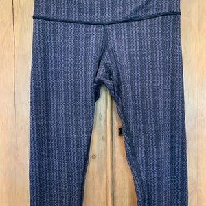 Black and grey Lululemon full length pants